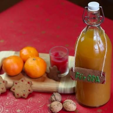 Rezepte: Mandarinenlikör