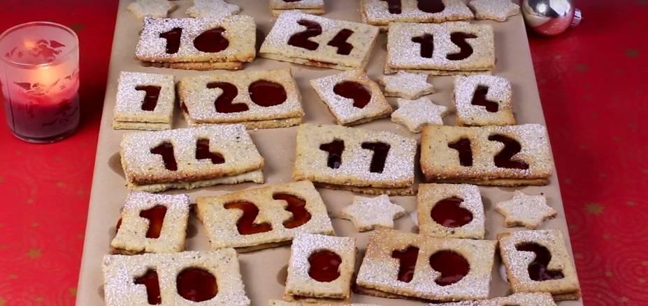 Rezept: Adventskalender-Kekse