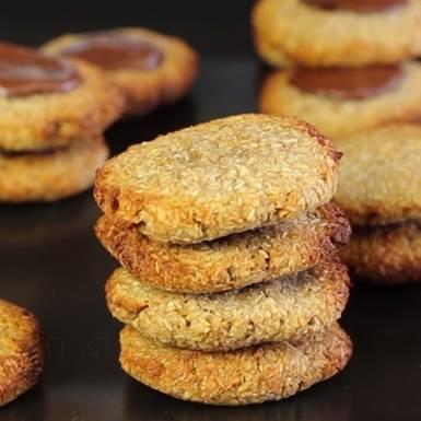 Rezept: Cookies mit nur zwei Zutaten