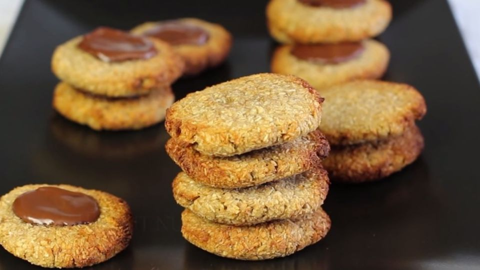 Glutenfreie Cookies mit nur zwei Zutaten
