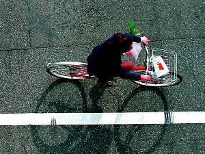 Outdoor-Training: Radfahren und Abnehmen