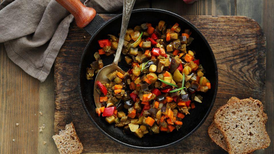 Ratatouille - unser liebstes Rezept
