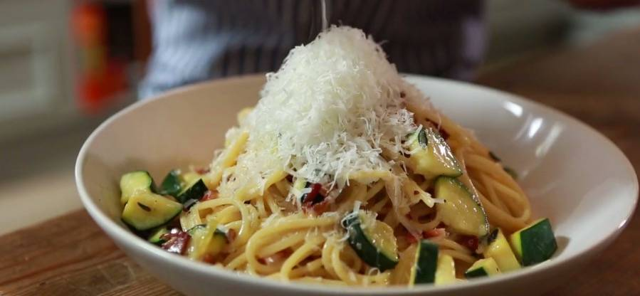 Rezepte: Zucchini-Carbonara