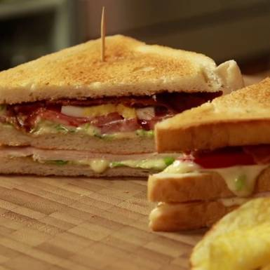 Rezepte: New York Club Sandwich