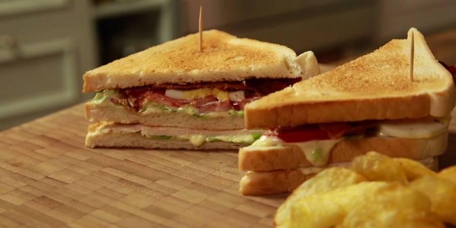 Rezepte: New York Club Sandwich