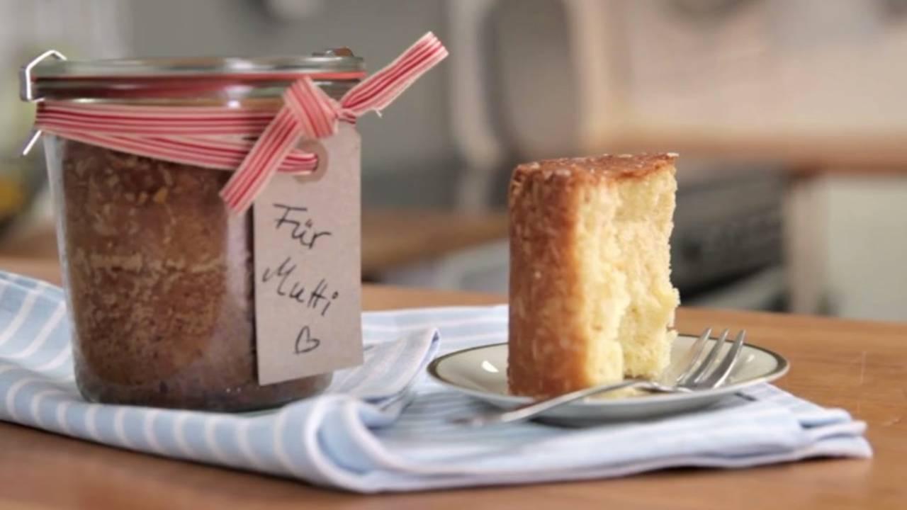 Kuchen im glas rezepte zum verschenken weihnachten