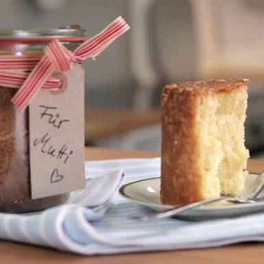 Rezepte: Kuchen im Glas