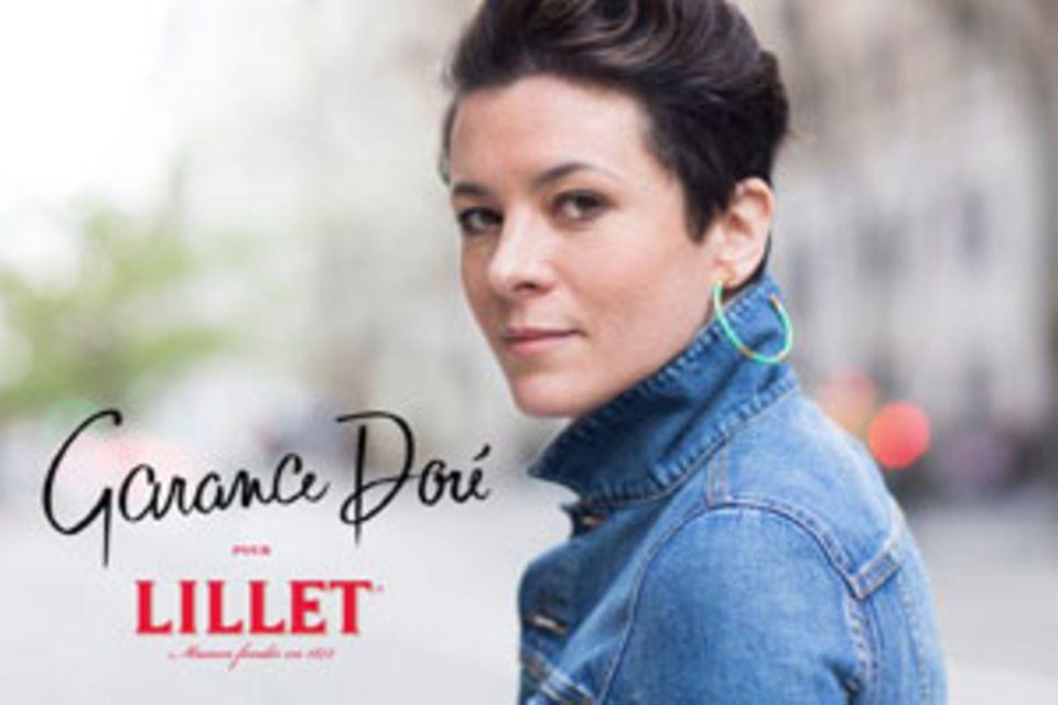 Dieses Porträt von Garance Doré fotografierte ihr Partner, der Streetstyle-Fotograf Scott Schuman
