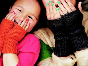 Pulswärmer stricken - für warme Handgelenke