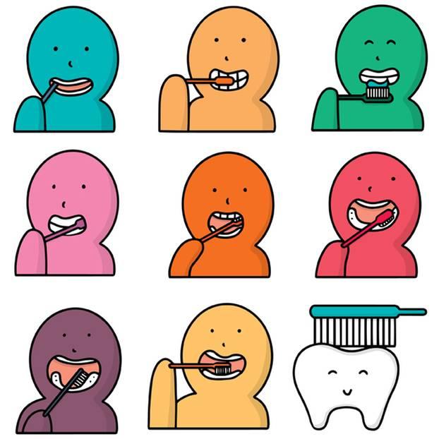 Zahnhygiene: 10 Dinge, die ihr beim Zähneputzen falsch machen könnt