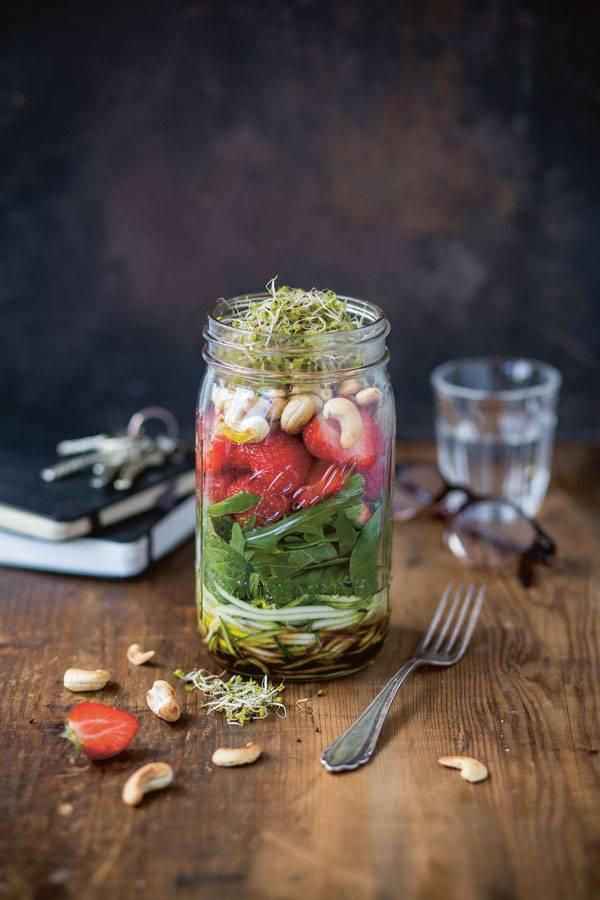 Gesunde Pause: Sommersalat