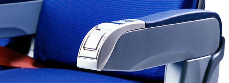 flugzeug aschenbecher: Sitz Flugzeug Aschenbecher