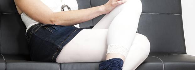 nackt unter der leggings