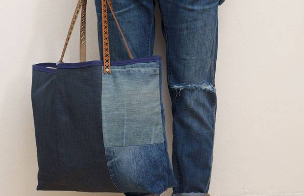 recycling so n ht ihr aus alten jeans tolle neue sachen. Black Bedroom Furniture Sets. Home Design Ideas