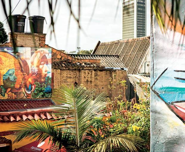 In Bogotá kann man viel Street-Art entdecken - am besten bei einer geführten Graffiti-Tour