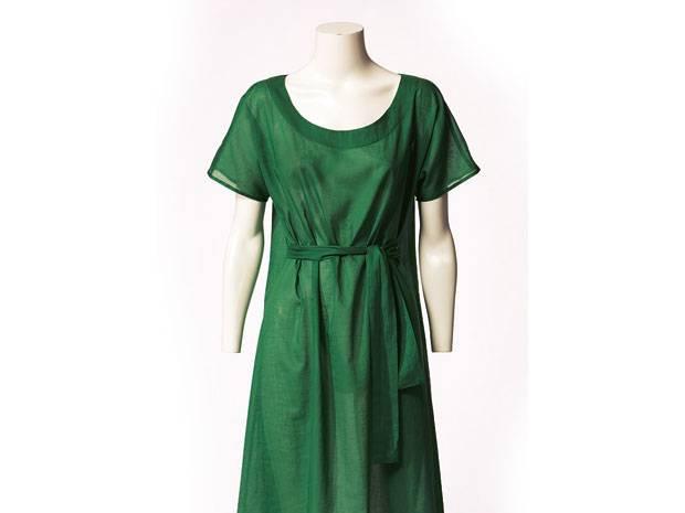 Schnittmuster: Kleid mit Gürtel nähen - eine Anleitung | BRIGITTE.de