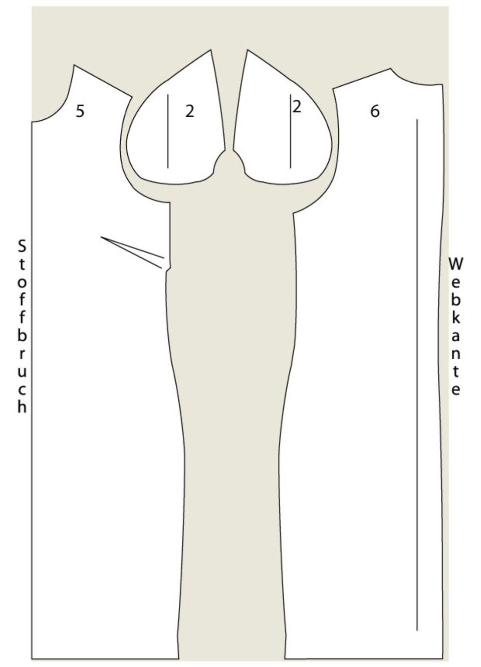 Streifenkleid nähen - eine Anleitung zum Selbernähen