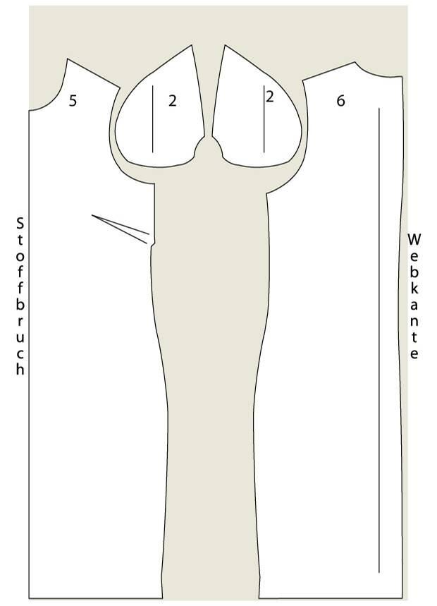 Schnittmuster: Streifenkleid nähen - eine Anleitung zum Selbernähen
