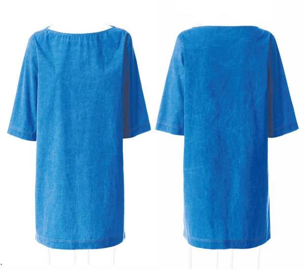 Schnittmuster: Kleid mit U-Boot-Ausschnitt nähen - eine Anleitung ...