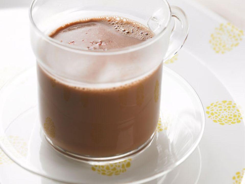 Heiße Schokolade mit Ingwer und Chili