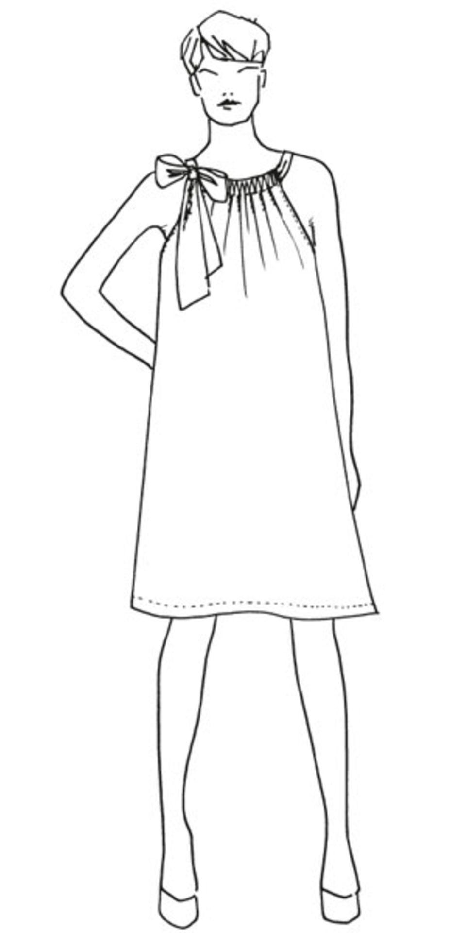 Ärmelloses Kleid nähen - eine Anleitung