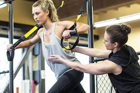 TRX-Übungen: Reinhängen lohnt sich!