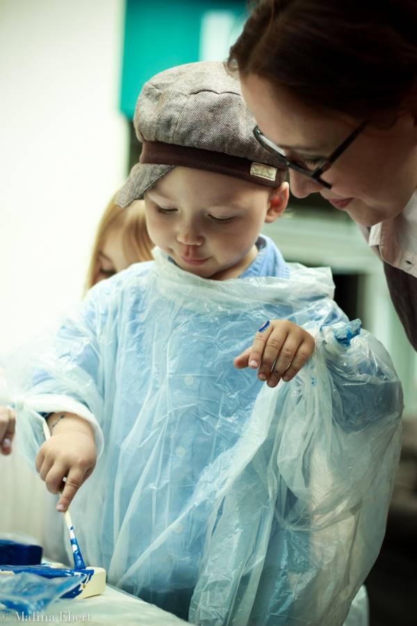 Konferenz mit Kinderbetreuung - das gibt es nur auf der Blogfamilia.