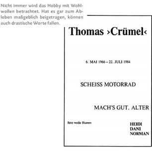 """""""Aus die Maus!"""": Skurrile Todesanzeigen aus der Zeitung"""
