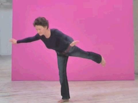 Fitness: Beckenboden: Standwaage