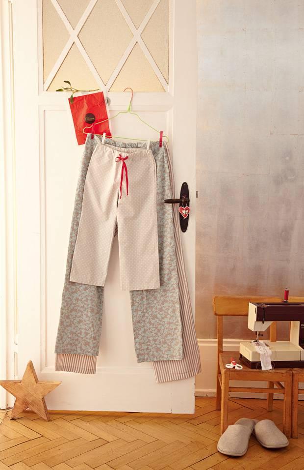 anleitung pyjama hose selber n hen so geht 39 s. Black Bedroom Furniture Sets. Home Design Ideas