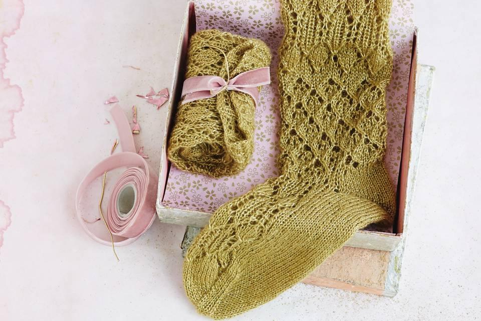 Strümpfe stricken - Anleitung zum Nachmachen