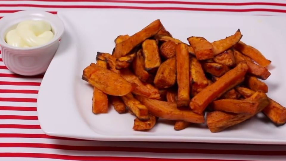 Süßkartoffel-Pommes selber machen