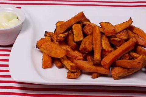Es gibt jetzt Süßkartoffel-Pommes bei Edeka!