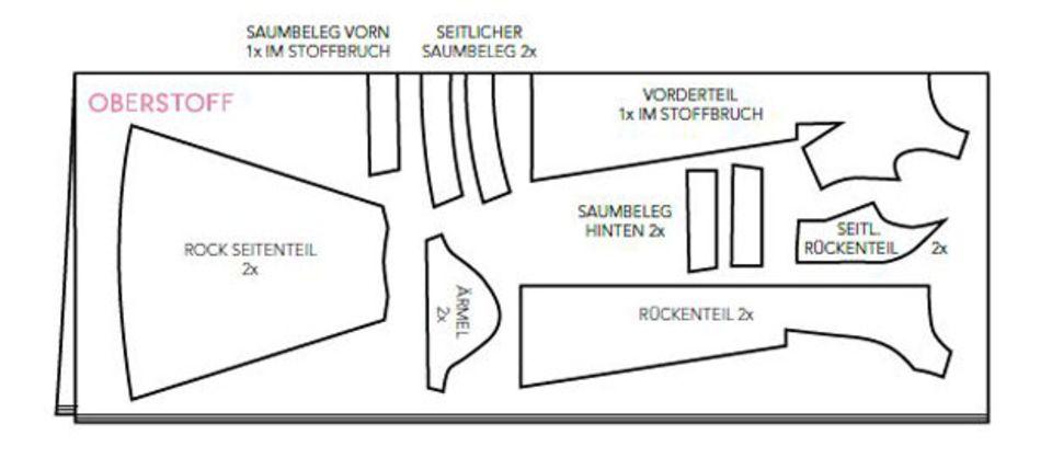 Zum Nachschneidern: Kleines Schwarzes entworfen von Guido Maria Kretschmer