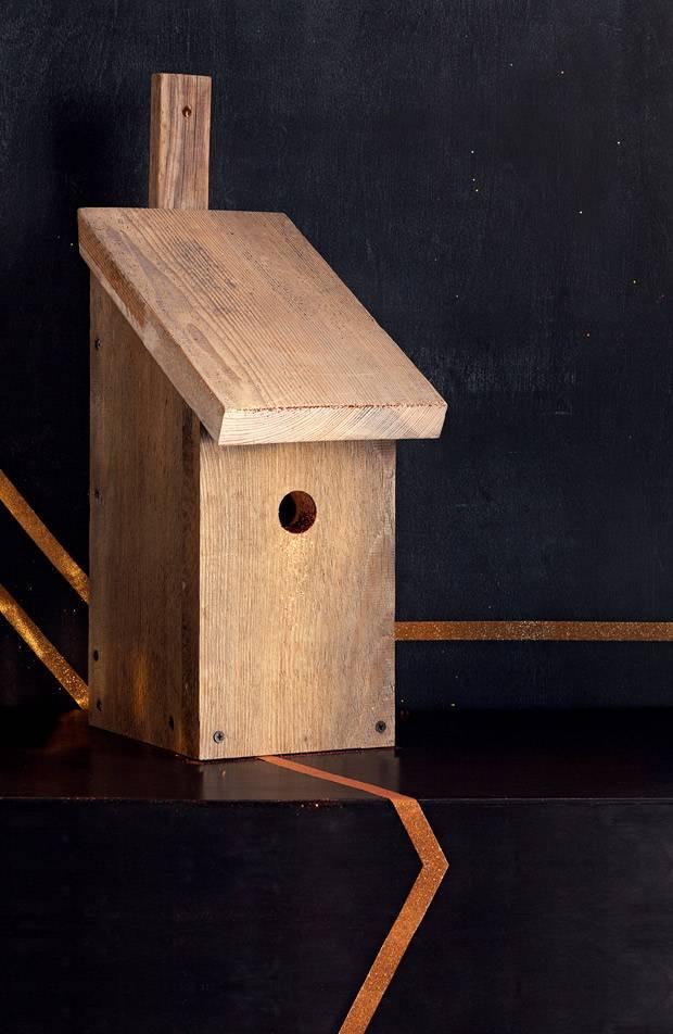 anleitung ein vogelh uschen selber bauen. Black Bedroom Furniture Sets. Home Design Ideas