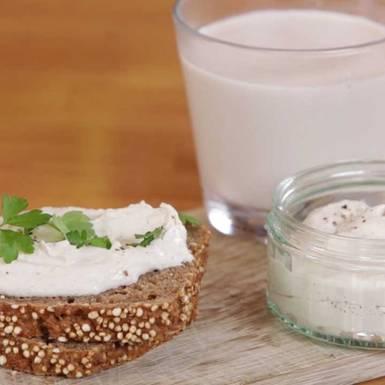 Rezepte: Nussmilch und Nusskäse selber machen
