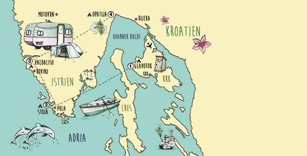 Campingurlaub: Camping in Kroatien: Mein Platz an der Adria