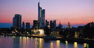 Wo auf der Landkarte findet man Frankfurt?