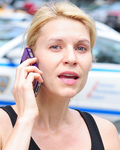 Ohne Make-up: Claire Danes