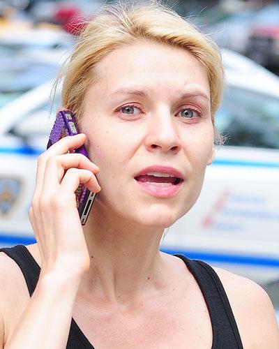 Ohne Make-up: Claire Danes