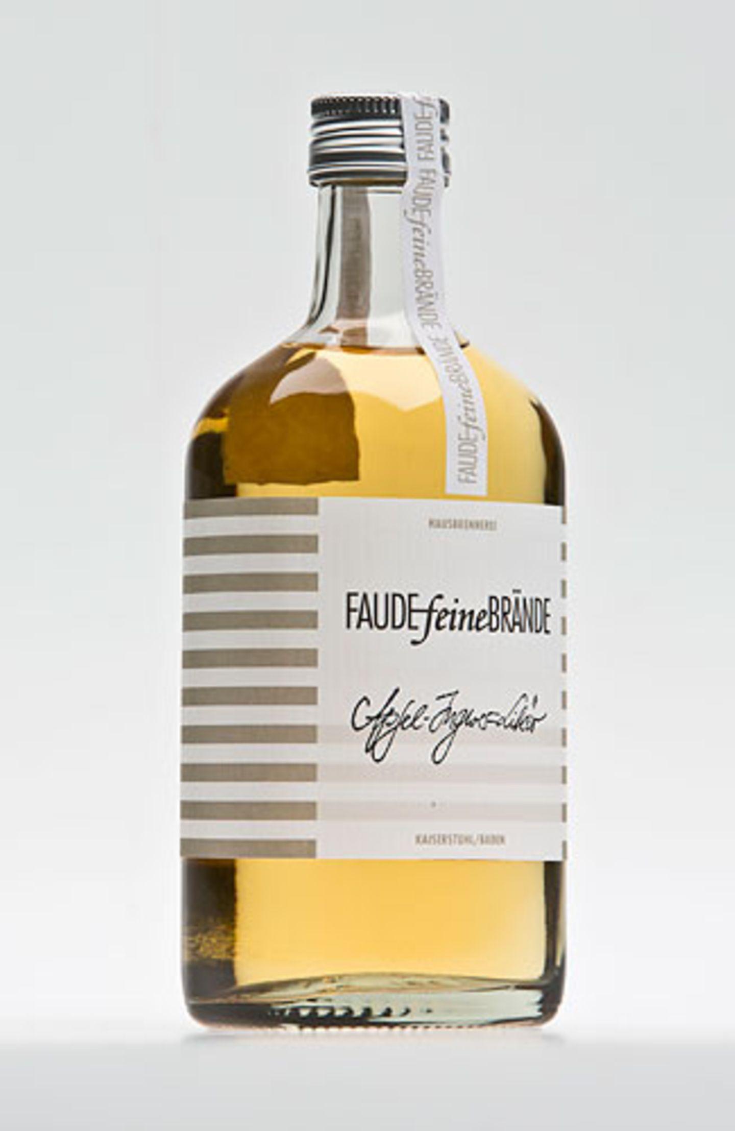 Apfel-Ingwer-Likör von Faude