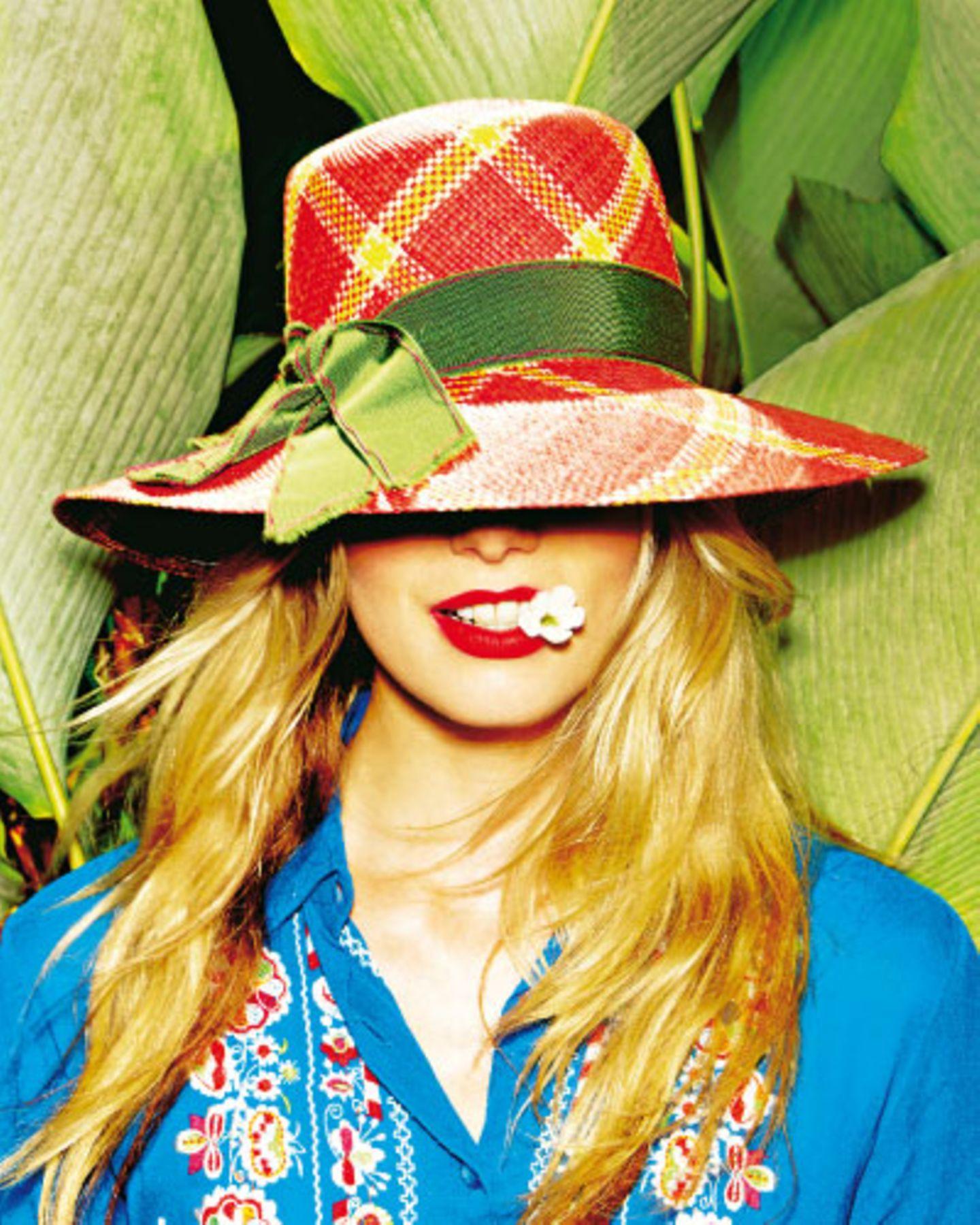 Nie oben ohne! Must-have in diesem Sommer: der Hut