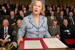 Und so wird Ihnen Meryl Streep als Maggie Thatcher ab 1. März im Kino begegnen. Dass die Amerikanerin in der Rolle der britischen Ex-Premierministerin so überzeugt, ist auch das Verdienst der Maske. Konsequenterweise gab es dafür den Oscar fürs beste Make-up.