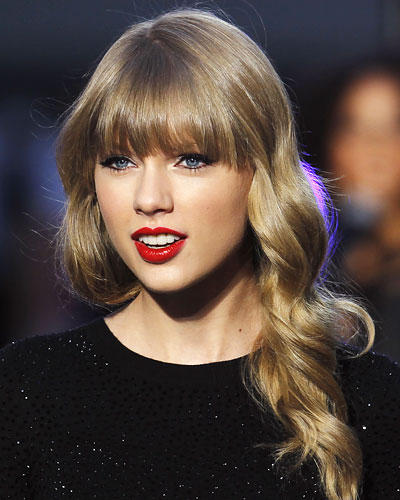 Top-Frisur 2012: Taylor Swift