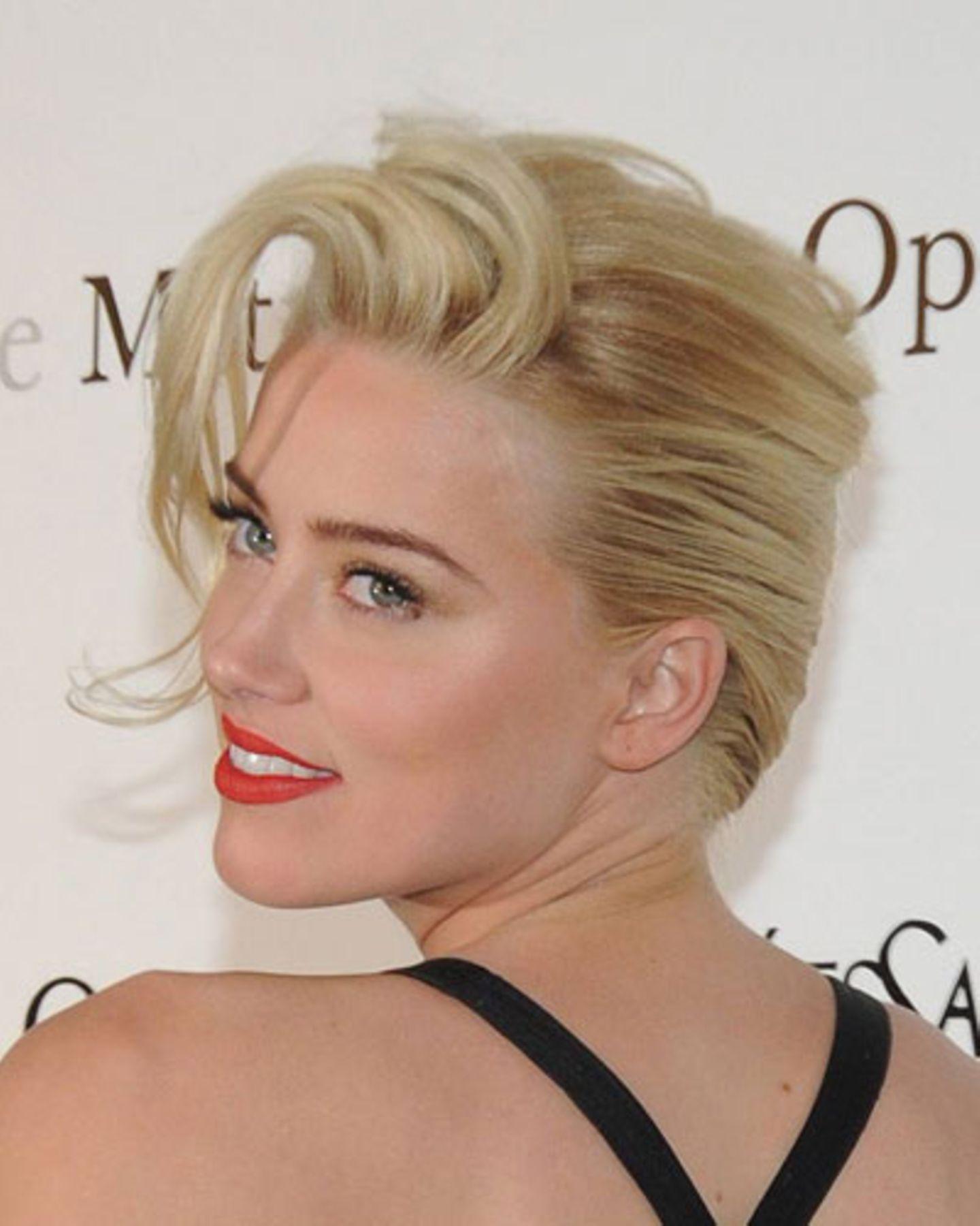 Top-Frisur 2012: Amber Heard