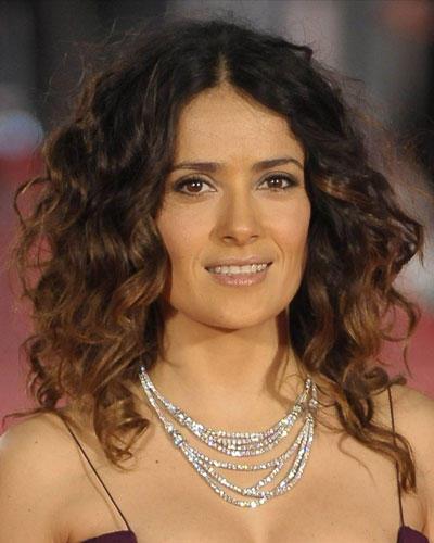 Top-Frisur 2012: Salma Hayek