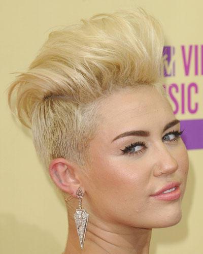 Flop-Frisur 2012: Miley Cyrus