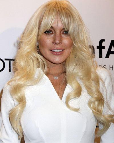 Flop-Frisur 2012: Lindsay Lohan