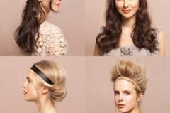 Vier Frisuren zum Nachmachen