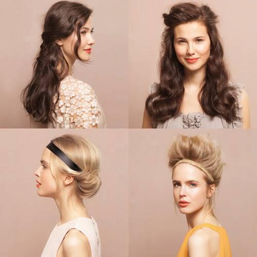 Haare Vier Frisuren Schritt Für Schritt Erklärt Brigittede